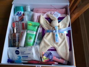 Contents of the Little Miracles box (A hug in a box