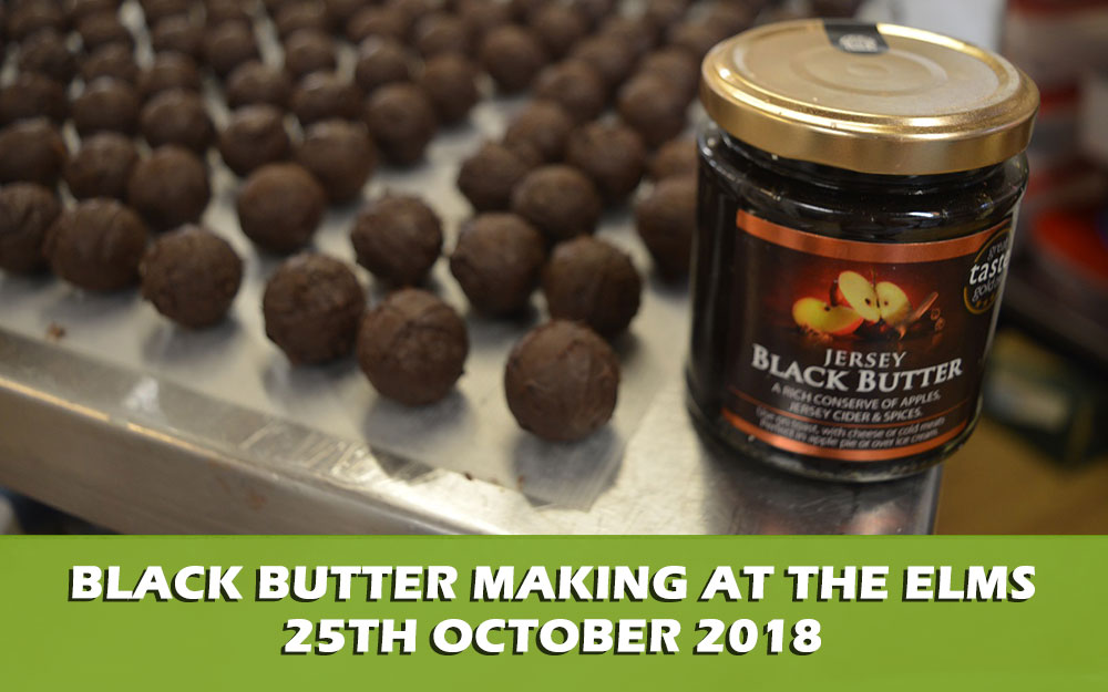 Black Butter Making at The Elms