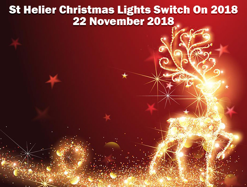 St Helier Christmas Lights Switch On 2018